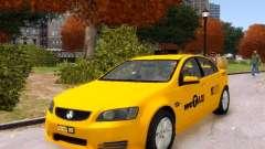 Holden NYC Taxi V.3.0 para GTA 4