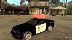 Shelby GT500KR Edition POLICE para GTA San Andreas