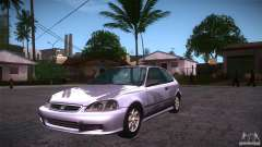 Honda Civic Tuneable para GTA San Andreas