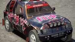 Mitsubishi Pajero Proto Dakar vinilo 3
