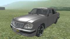 GAS de 31105 Volga silver para GTA San Andreas