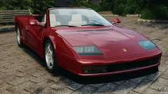 Ferrari Testarossa Spider custom v1.0