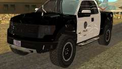 Ford Raptor Police para GTA San Andreas