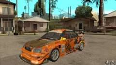 Subaru Impreza D1 WRX Yukes Team Orange para GTA San Andreas
