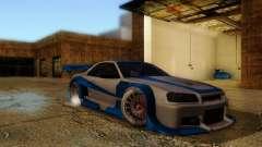 Nissan Skyline GTR34 DTM para GTA San Andreas