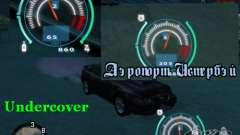 Velocímetro de NFS Undercover para GTA San Andreas