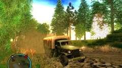 Millitary Truck from Mafia II para GTA San Andreas