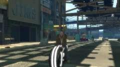 Motocicleta del trono (neón gris) para GTA 4