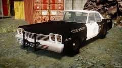 Dodge Monaco 1974 (bluesmobile)