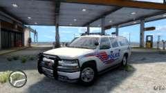 Chevrolet Suburban 2006 Police K9 UNIT para GTA 4