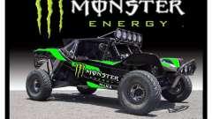 Pantalla de arranque de Monster Energy
