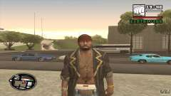 Sam B from Dead Island para GTA San Andreas