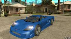 Saleen S7 Twin Turbo Custom Tuned para GTA San Andreas