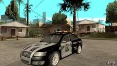 Audi A6 Police para GTA San Andreas
