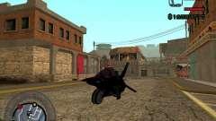 Motocicleta de la ciudad de Alien para GTA San Andreas