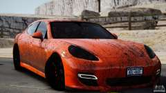 Porsche Panamera Turbo 2010 Black Edition para GTA 4