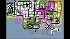 Teletransporte a un marcador para GTA San Andreas
