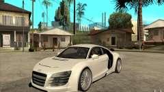 Audi R8 5.2 FSI custom para GTA San Andreas