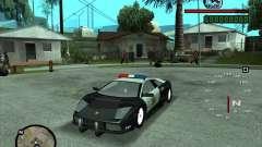 Lamborghini Murcielago Police para GTA San Andreas