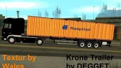 Krone Trailer Hapag-LLoyd