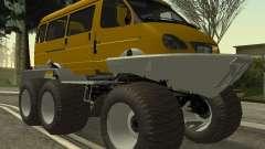 Gacela 2705 swamp buggy