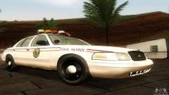 Ford Crown Victoria North Dakota Police para GTA San Andreas