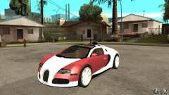 Bugatti Veyron Grand Sport para GTA San Andreas