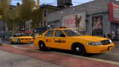 Ford Crown Victoria NYC Taxi 2013