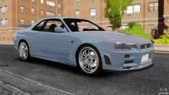 Nissan Skyline GT-R R34 Fast and Furious 4 para GTA 4