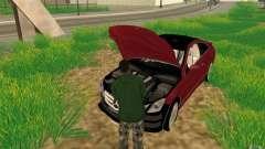 CLEO mod: CJ puede reparar el coche para GTA San Andreas