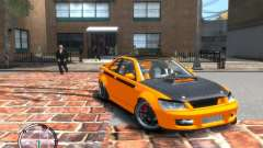 Sultan RS HD FreeStyle Team para GTA 4