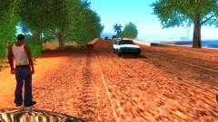 Controladores normales en la pista para GTA San Andreas