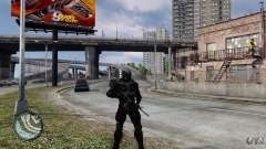 Crysis 2 NanoSuit v4.0 para GTA 4