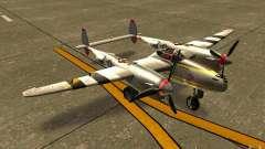 P38 Lightning para GTA San Andreas