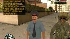 Policía rusa piel para GTA San Andreas