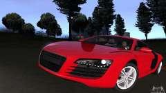 Audi R8 4.2 FSI para GTA San Andreas