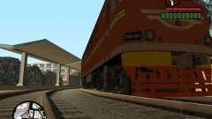 Locomotora TEP-60 para GTA San Andreas