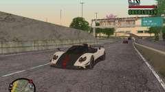 Pagani Zonda Cinque Roadster V2 para GTA San Andreas