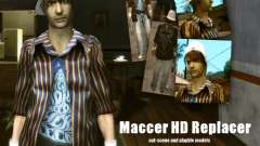 Maccer HD Replacer para GTA San Andreas