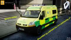 Renault Master 2007 Ambulance Scottish [ELS]