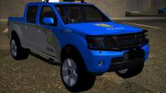 Nissan Frontier PMERJ para GTA San Andreas