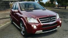 Mercedes-Benz ML63 (AMG) 2009 para GTA 4