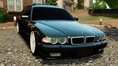 BMW 750iL E38 Light Tuning para GTA 4