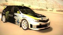 Subaru Impreza Gymkhana para GTA San Andreas