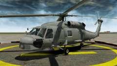El helicóptero del Sikorsky SH-60 Seahawk