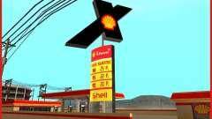 Nueva estación de servicio Shell para GTA San Andreas
