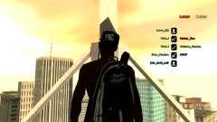Mochila-paracaídas para GTA: SA