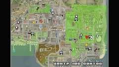 Nuevos iconos de mapa para GTA San Andreas