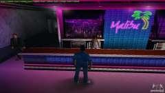 Nuevas texturas Club Malibú para GTA Vice City