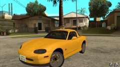 Mazda MX-5 JDM Coupe para GTA San Andreas